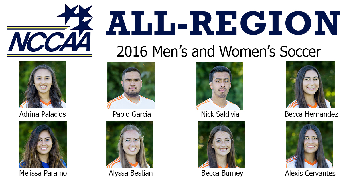 Photo for Eight Seabeggars Earn NCCAA Soccer Awards